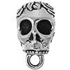 TIERRACAST® Antique Silver Skull Bail
