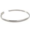 Band for Inter-Changeable Size Small, Silver Overlay