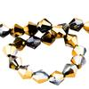 Spark Bicone Beads Bronze Shade 4mm