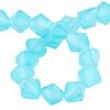 Spark Bicone Beads Caribbean Blue Opal 4mm