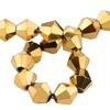 Spark Bicone Beads Aurum 4mm