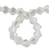 Spark Bicone Beads Crystal AB 4mm