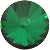 Spark Crystal Rivoli Emerald 10mm