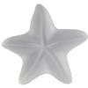 German Starfish Cabochons Crystal Matte 8 mm