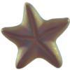 German Starfish Cabochons Purple Haze Matte 15 mm