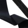 Black Fashion Stretch 30mm Wide (1.18 Inch), Curls to 5mm Tube