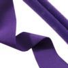 Dark Purple Fashion Stretch 30mm Wide (1.18 Inch), Curls to 5mm Tube