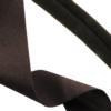 Dark Brown Fashion Stretch 30mm Wide (1.18 Inch), Curls to 5mm Tube