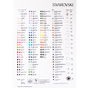 Swarovski COLOR CHART - Beads Colour Chart