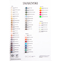 Swarovski COLOR CHART - Pearls Colour Chart