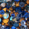 Swarovski 1028/1012/1100 Blue Mix