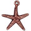TIERRACAST® Antique Copper Seastar Charm