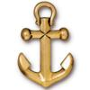 TIERRACAST® Antique Gold Anchor Charm