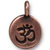 TIERRACAST® Antique Copper OM Charm