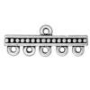 TIERRACAST® Antique Silver Beaded 5-1 Link