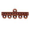 TIERRACAST® Antique Copper Beaded 5-1 Link