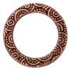 "TIERRACAST® Antique Copper 3/4"" Spiral Ring Link"