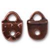 TIERRACAST® Antique Copper R&R Strap Tip Link