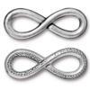 TIERRACAST® Antique Silver Infinity Link
