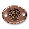 TIERRACAST® Antique Copper Bird in a Tree Link