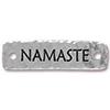 TIERRACAST® Antique Silver Namaste Link