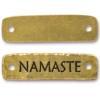TIERRACAST® Antique Gold Namaste Link
