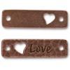 TIERRACAST® Antique Copper Love Link