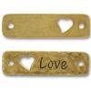 TIERRACAST® Antique Gold Love Link