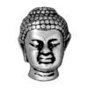 TIERRACAST® Antique Silver Buddha Head Bead