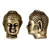 TIERRACAST® Antique Gold Buddha Head Bead