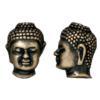 TIERRACAST® Brass Oxide Buddha Head Bead