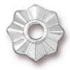 TierraCast® Rhodium Plated Rivetable 8 Point