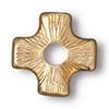 TierraCast® Gold Plated Rivetable Cross