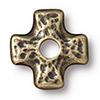 TierraCast® Brass Oxide Rivetable Cross