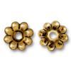 TierraCast® Antique Gold Rivetable Flower