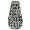 Teardrop Pave Bead with 1.2 mm hole Black Diamond 8 x 15 mm