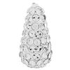 Teardrop Pave Bead with 1.2 mm hole Crystal   8 x 15 mm
