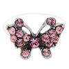 Butterfly Illusion Stretch Toe Ring made with Crystals from Swarovski Rose