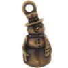 TierraCast® Brass Oxide Frosty Charm, Drop