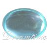 West German Glass Oval Shaped Cabochons