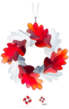 Swarovski Collections Wreath Ornament, Leaves