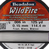 Frost White WildFire .006 Inch (.15 MM),  125 Yards