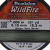 Green WildFire .006 Inch (.15 MM),  125 Yards