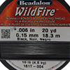 Black WildFire .006 Inch (.15 MM),  20 Yards
