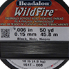 Black WildFire .006 Inch (.15 MM),  50 Yards