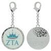 Zeta Tau Alpha Bag Charm