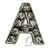 """""""A"""" Rhinestone Charm"""