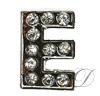 """""""E"""" Rhinestone Charm"""