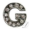 """G"" Rhinestone Charm"