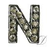 """""""N"""" Rhinestone Charm"""